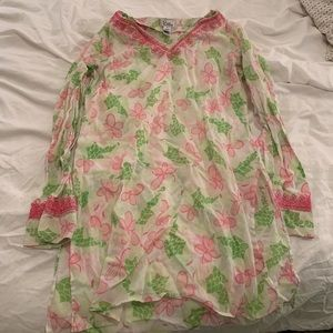 Cotton Lilly Pulitzer Swim Cover-Up